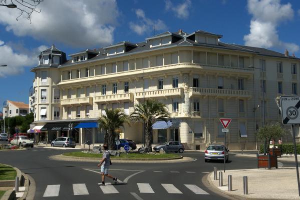 Royan, conche de Pontaillac, front de mer