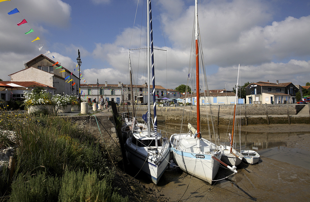 Mornac-sur-Seudre, port